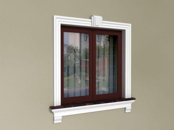 Ozdoby styropianowe do okien - Zestaw klasyczny ZKL2