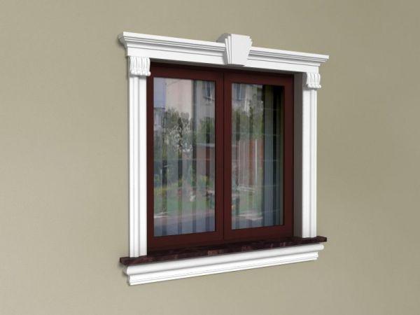 Elementy do zdobienia okien - Zestaw klasyczny ZKL4