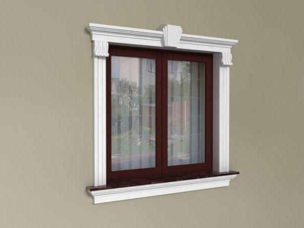 Elementy zdobienia okien - Zestaw klasyczny ZKL5