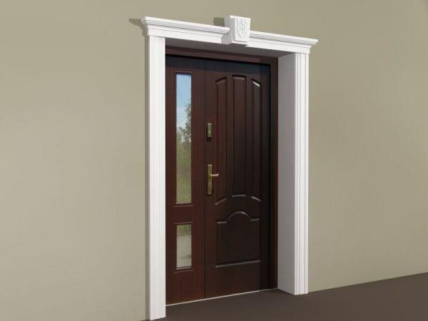 Sztukateria ozdobna drzwiowa - Zestaw klasyczny ZKL3
