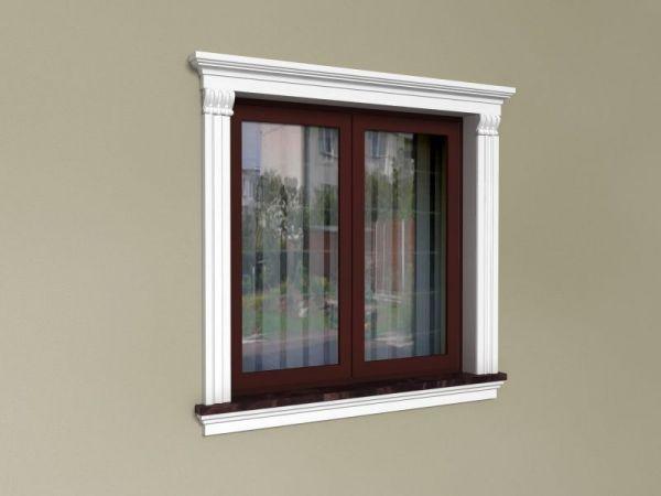 Stylowe obramowania okien - Zestaw okienny ZO2