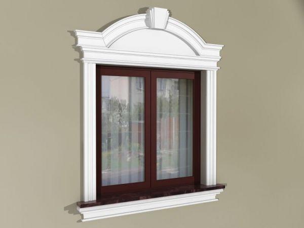Obramowania okien - Zestaw okienny w stylu angielskim ZEN3