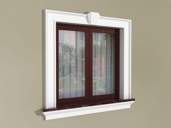 Elementy zdobienia okien - Zestaw okienny w stylu angielskim ZEN4