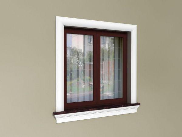 Ozdoby styropianowe do okien - Zestaw w stylu amerykańskim ZA2