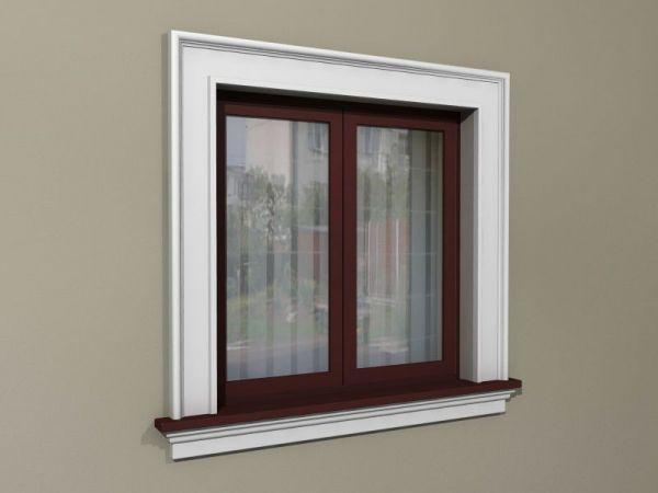Elementy do zdobienia okien - Zestaw w stylu amerykańskim ZA4
