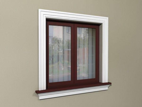 Elementy zdobienia okien - Zestaw w stylu amerykańskim ZA5