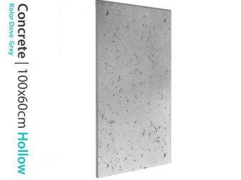 Beton do salonu Hollow Plain Dove Grey 60x100