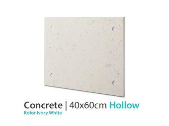 Płyta betonowa ścienna Ivory White 40x60
