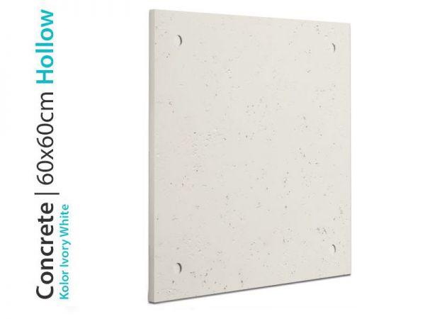 Tani beton architektoniczny Ivory White 60x60