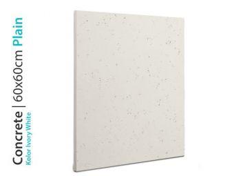 Beton architektoniczny biały 60x60