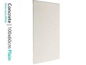 Płyta betonowa ozdobna White 60x100