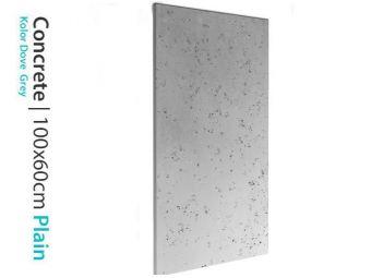 Płyta betonowa na ścianę Dove Grey 60x100