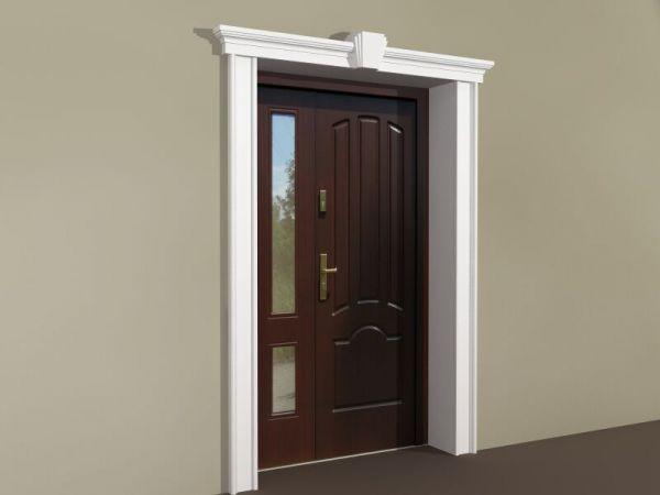 Sztukateria wokół drzwi - Zestaw klasyczny ZKL1