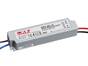 Zasilacz impulsowy wodoodporny IP 67 GPV 12V/2A 20W