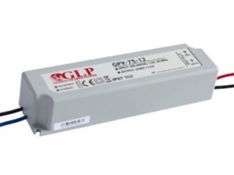 Zasilacz impulsowy wodoodporny IP 67 GPV 12V/6A 75W