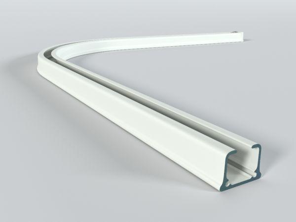 Łuk do szyny aluminiowej ZS 90 st.