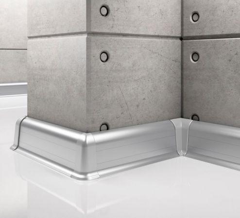Listwa przypodłogowa aluminiowa LP55 Creativa