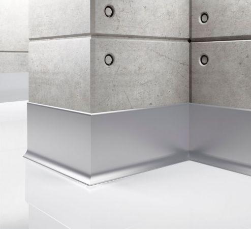 Listwa przypodłogowa aluminiowa LP80 Creativa