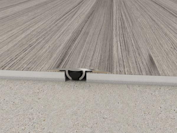 Listwa łącząca do paneli płaska CS3 1,86 m drewno