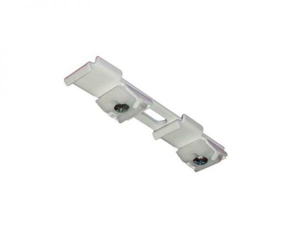 Uchwyt podwójny sufitowy do szyn aluminiowych ZS/ZD