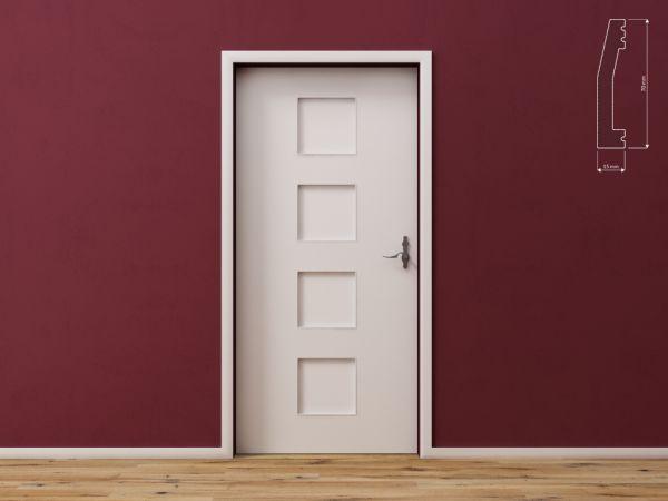 Listwa wielofunkcyjna do drzwi, ścian i podłóg DecorSystem DSP02