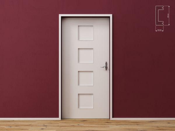 Listwa wielofunkcyjna do drzwi, ścian i podłóg DecorSystem DSP10