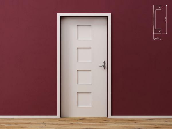 Listwa wielofunkcyjna do drzwi, ścian i podłóg DecorSystem DSP08
