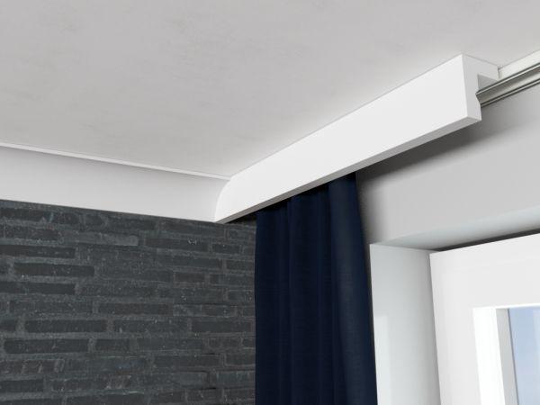 Zestaw listwa zakrywająca karniszLKO3 z listwą sufitową LP6