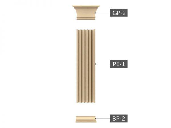 Zestaw Pilastrów ZP1-250