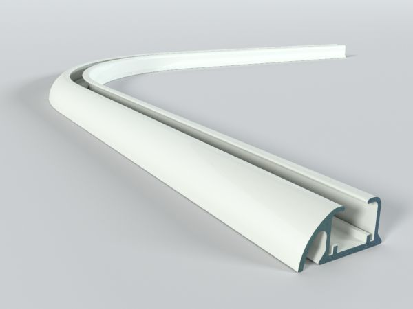 Łuk do szyny aluminiowej ZD 90 st.