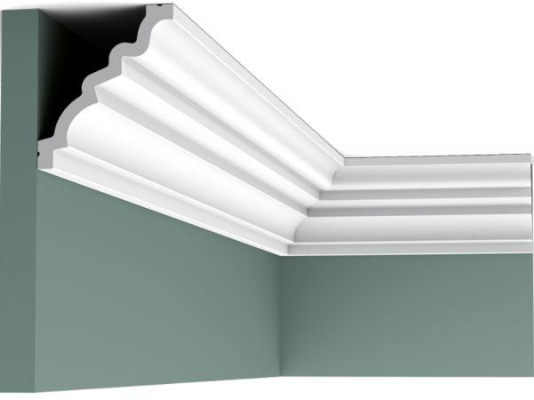 Nowoczesna listwa sufitowa elastyczna C326F Orac Decor