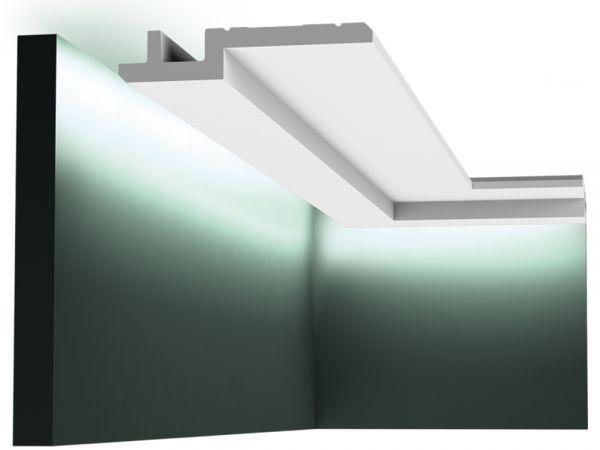 Nowoczesna listwa sufitowa C395 LED Orac Decor