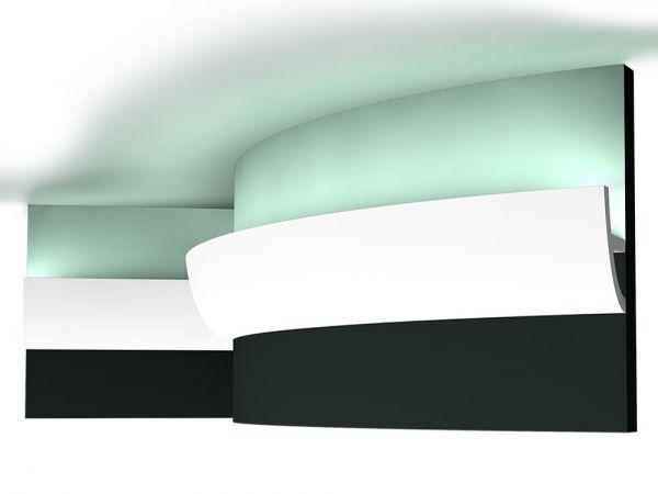 Listwa elastyczna oświetleniowa sufitowa C373F Led Orac Decor
