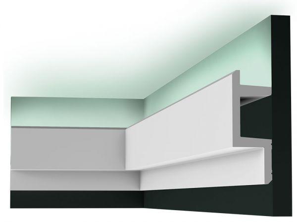Listwa oświetleniowa sufitowa C383 Led Orac Decor przekrój