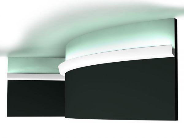Listwa elastyczna oświetleniowa sufitowa CX189F LED Orac Decor