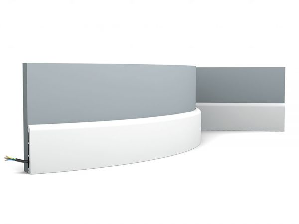 Listwa przypodłogowa elastyczna SX184F Orac Decor