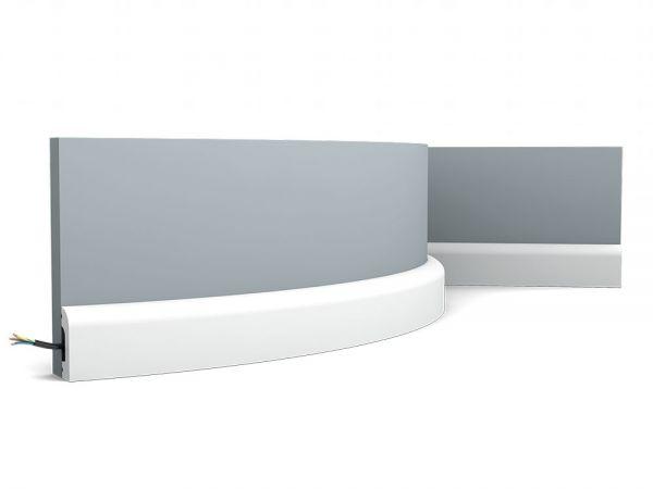 Listwa przypodłogowa elastyczna SX182F Orac Decor