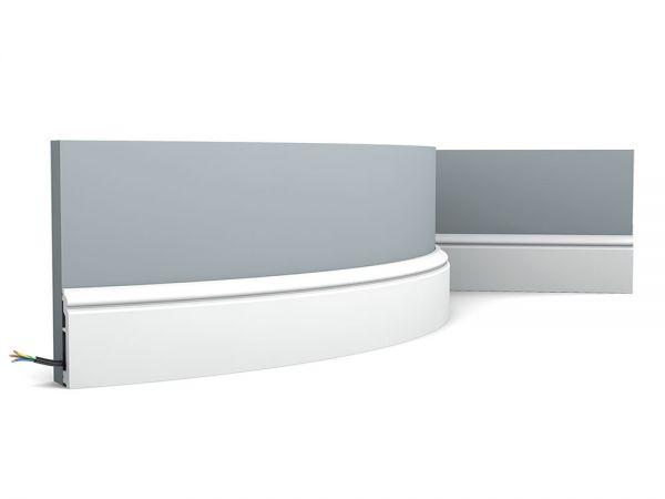 Listwa przypodłogowa elastyczna SX173F Orac Decor