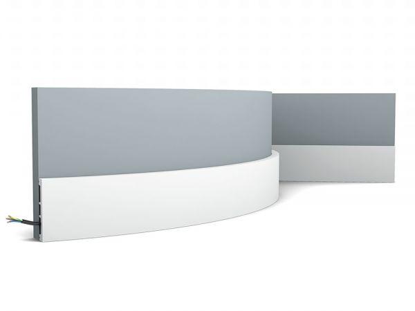Listwa przypodłogowa elastyczna SX163F Orac Decor
