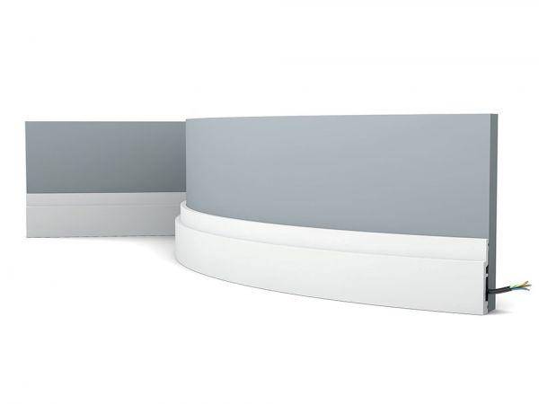 Listwa przypodłogowa elastyczna SX187F Orac Decor