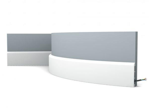 Elastyczna listwa przypodłogowa SX184F Orac Decor