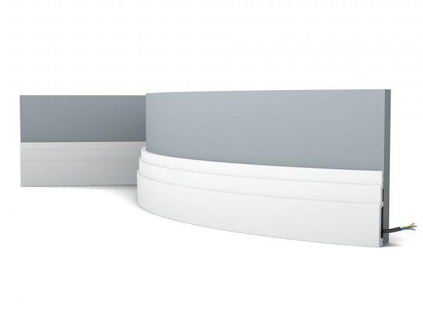 Listwa przypodłogowa SX180F elastyczna Orac Decor