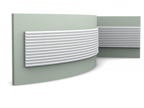 W108 Flex lamel ścienny 3D  Zigzag ORAC DECOR