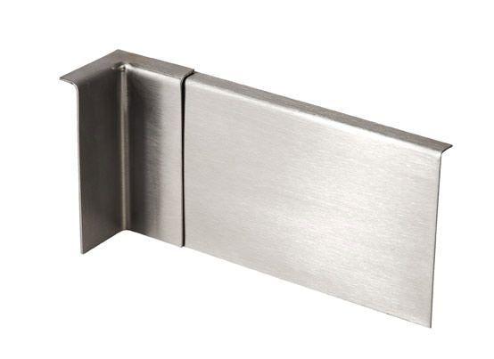Narożnik stalowy wewnętrzny - szlif